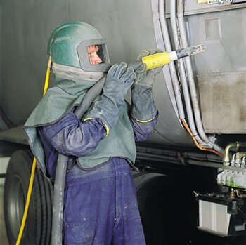 Sandblasting Truck cleaning Brisbane