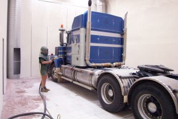 Sandblasting Truck cleaning Queensland Australia