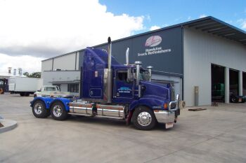 Truck prime mover cleaning Brisbane