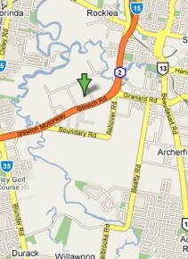 Google Map Truck Refinishers Brisbane
